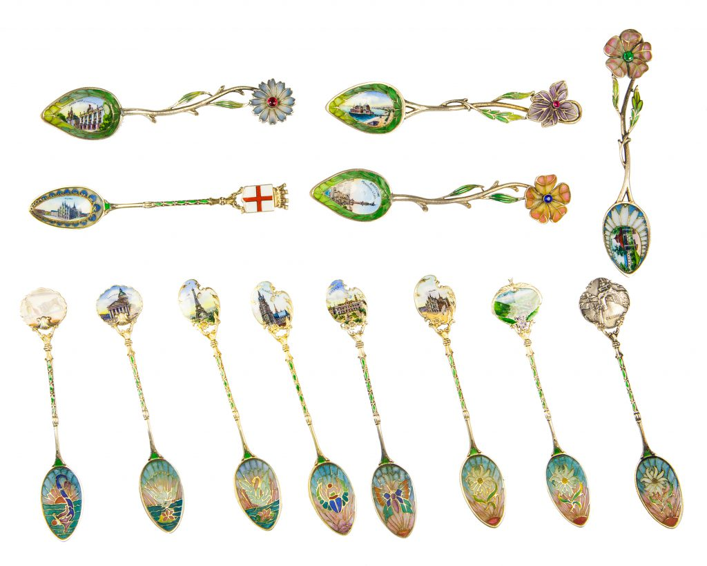Lost Wax Casting Plique Spoons